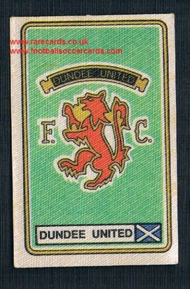 1979 Panini Football 79 silk sticker with backing paper, almost as good as new 459 Dundee United